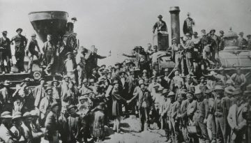 Transcontinental Railroad's 150th Anniversary