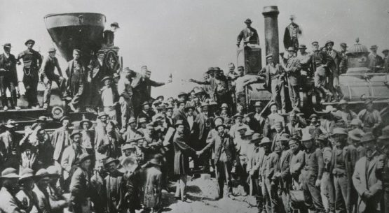 Transcontinental Railroad's 150th Anniversary